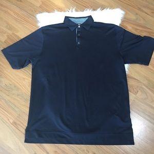 FootJoy (FJ) navy short sleeve polo shirt, XL